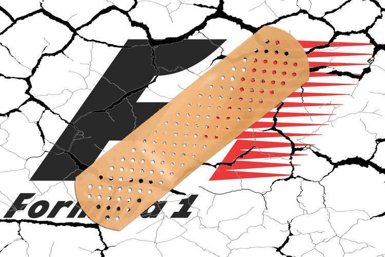 cracks f1 crisis band-aid