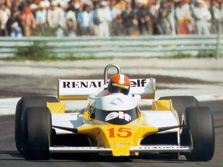 Renault F1 first win Dijon Jabouille