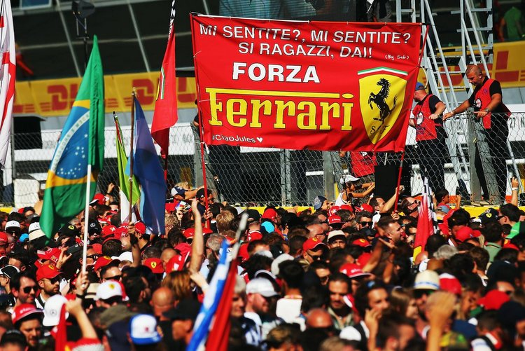 Monza tifosi fans