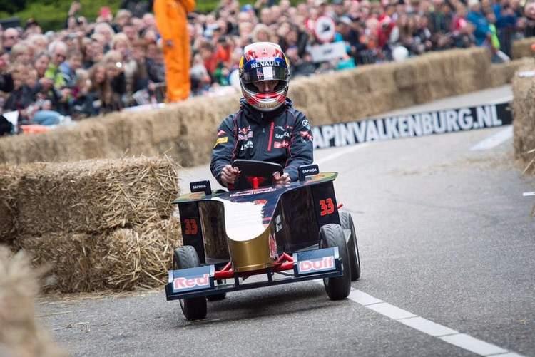 Red Bull soapbox derby Verstappen