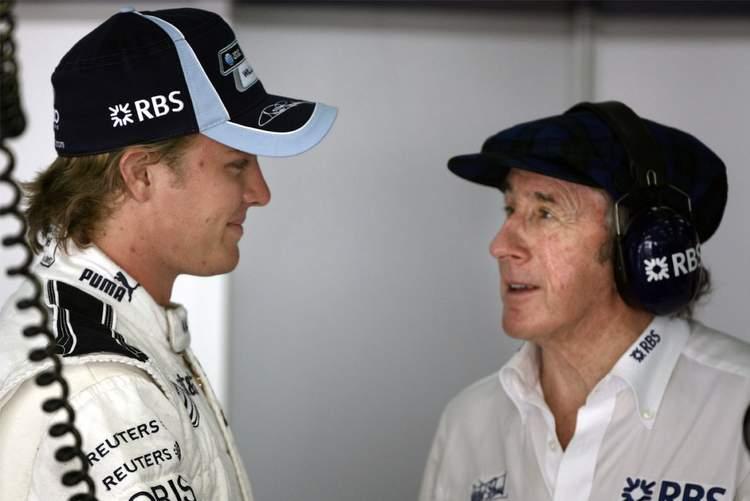Jackie Stewart Rosberg