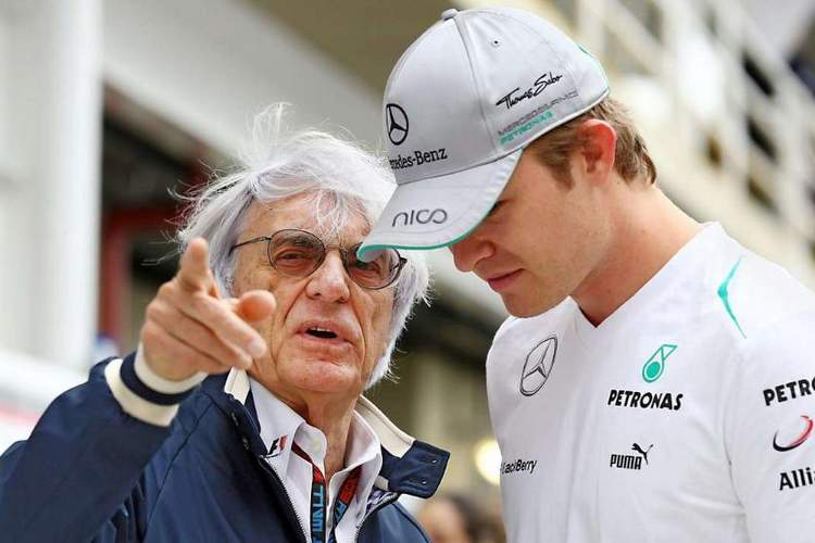 Rosberg Ecclestone