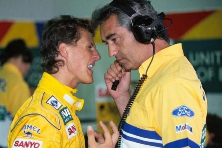 Schumacher Briatore