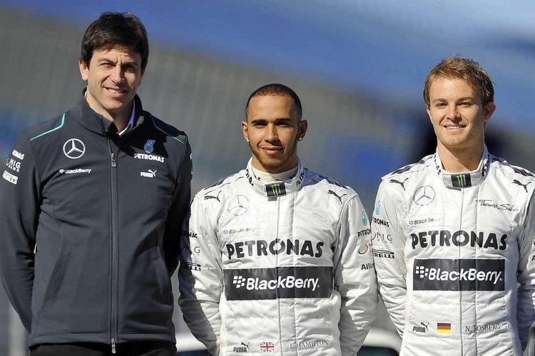 Wolff Rosberg Hamilton