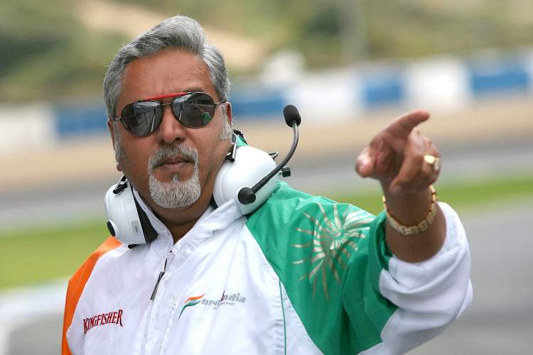 Vijay Mallya (IND) Force India F1 Team Owner Formula One Testing, 1-5 March 2009, Jerez, Spain.