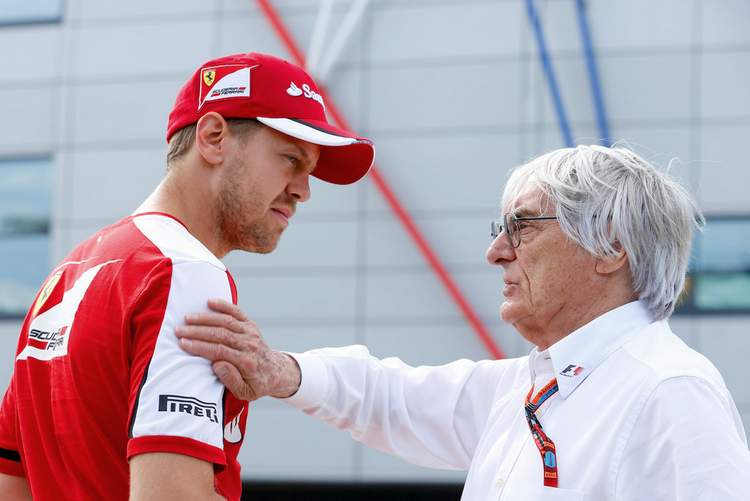 Bernie+Ecclestone+F1+Grand+Prix+Great+BritainVettel