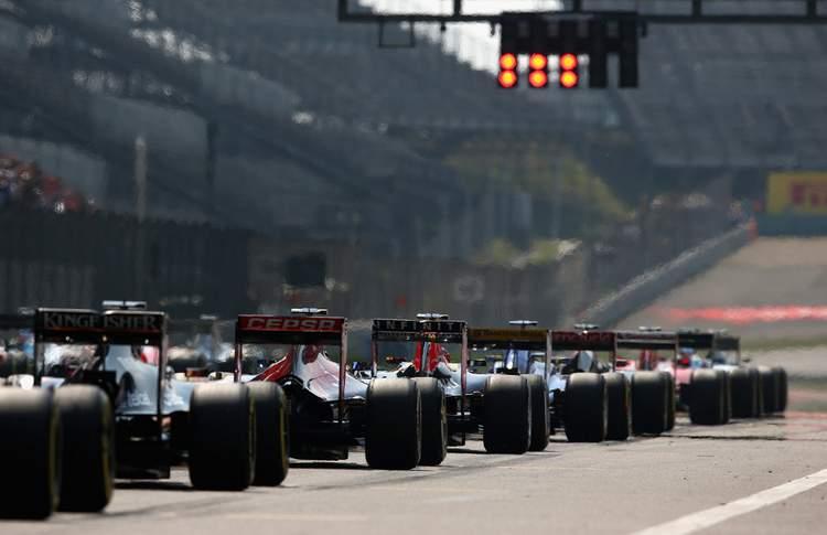 F1+Grand+Prix+of+China+pqXlmH9rtGqx+grid