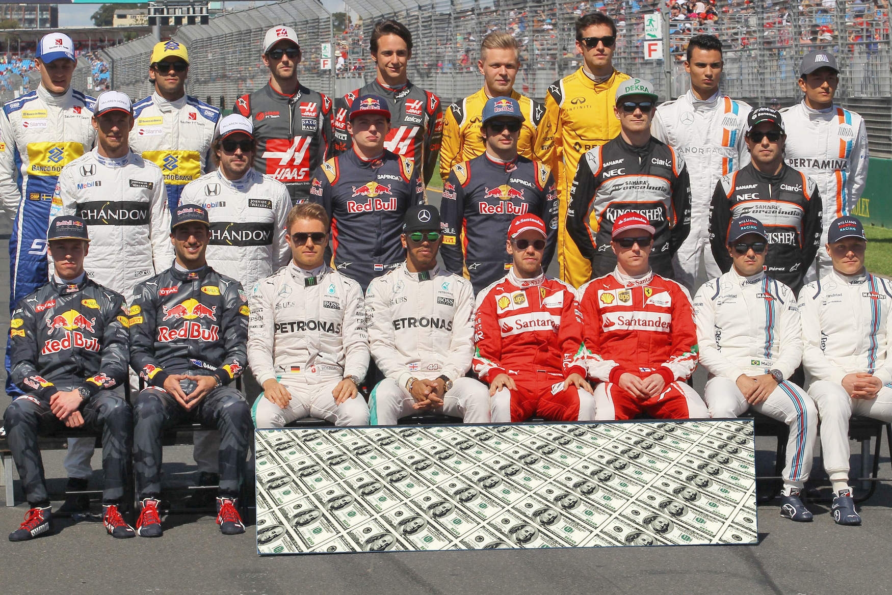 Here s how much each F1 driver will make in 2017