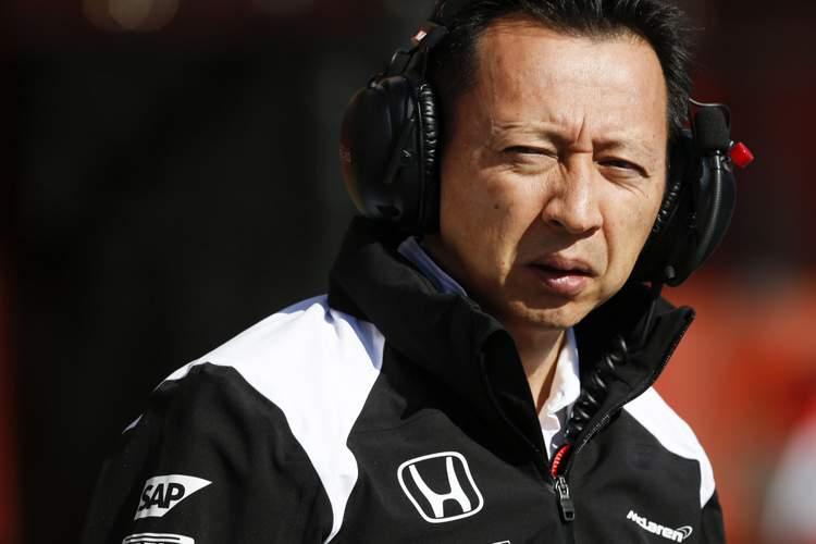 Yusuke Hasegawa (JPN) Head of Honda Motorsport at Formula One Testing, Day One, Barcelona, Spain, Tuesday 1 March 2016.