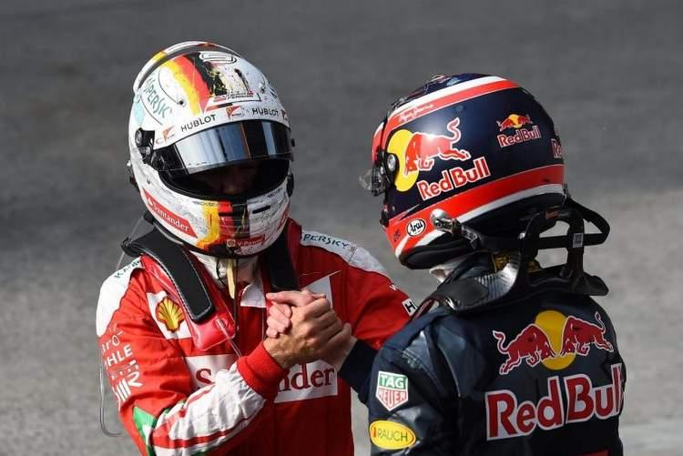 Kvyat Vettel