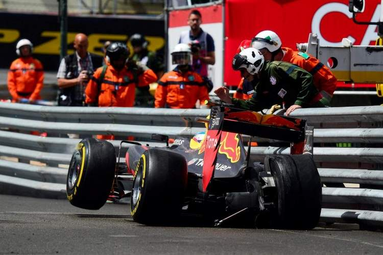 Verstappen Monaco vcrash