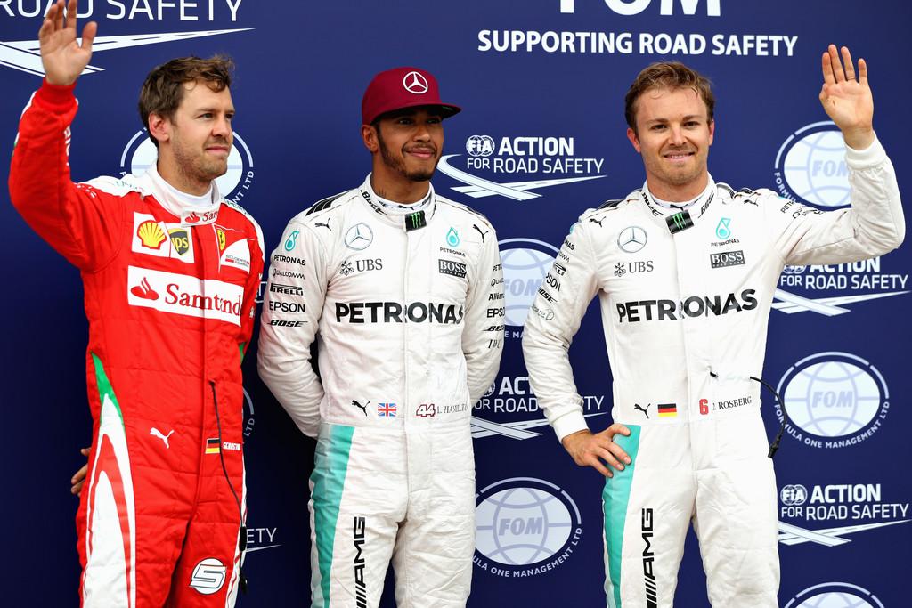 Sebastian+Vettel+Canadian+F1+Grand+Prix+Qualifying+Hamilton Rosberg