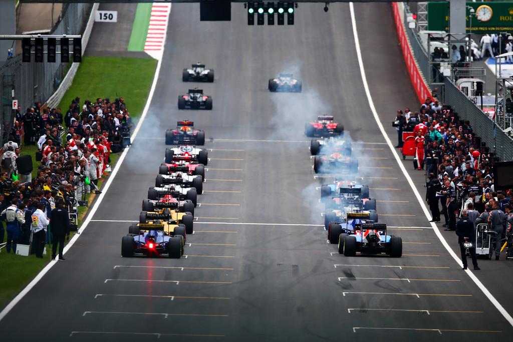 F1+Grand+Prix+of+Austria+grid start