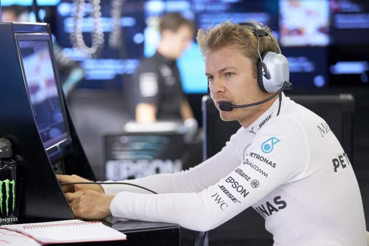 Nico Rosberg Mercedes Austria