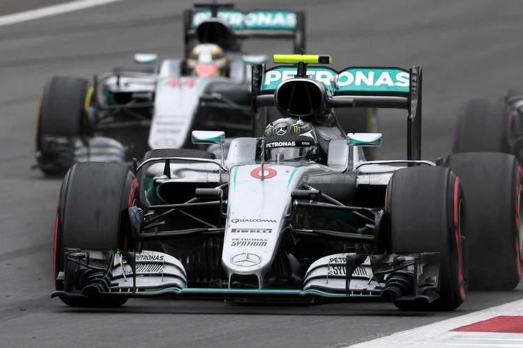Rosberg Hamilton Austria