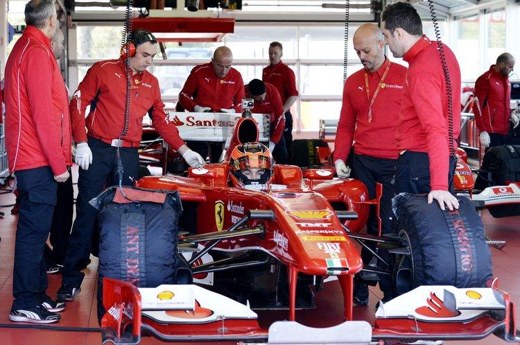 Ocon Ferrari