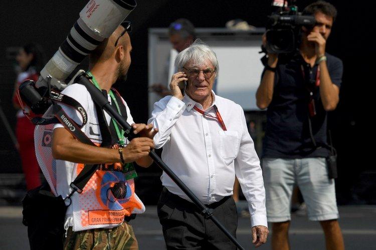 F1+Grand+Prix+Italy+Practice+Ecclestone