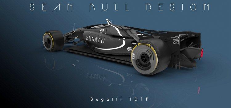 Bugatti 2020 F1 Concept Car By Sean Bull Grand Prix 247