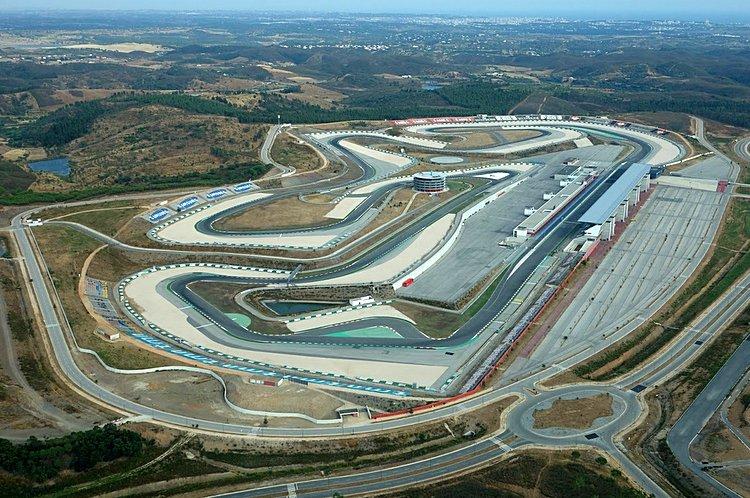 Autodromo do Algarve editorial stock photo. Image of track ...