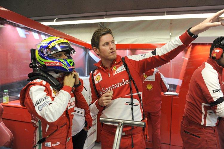 Felipe Massa, Rob Smedley