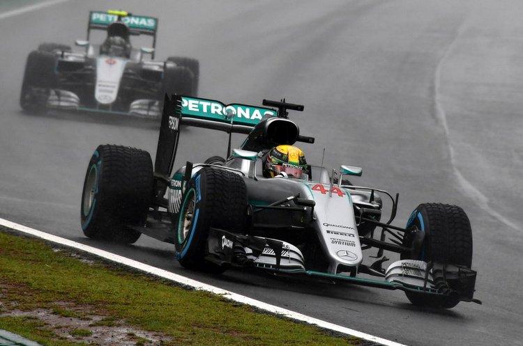 Hamilton Rosberg Brazilian Grand Prix