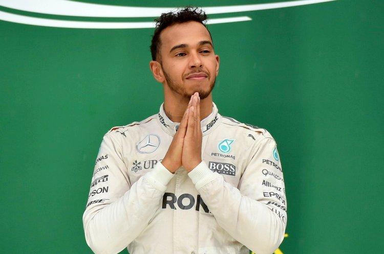 Lewis Hamilton, Interlagos, podium