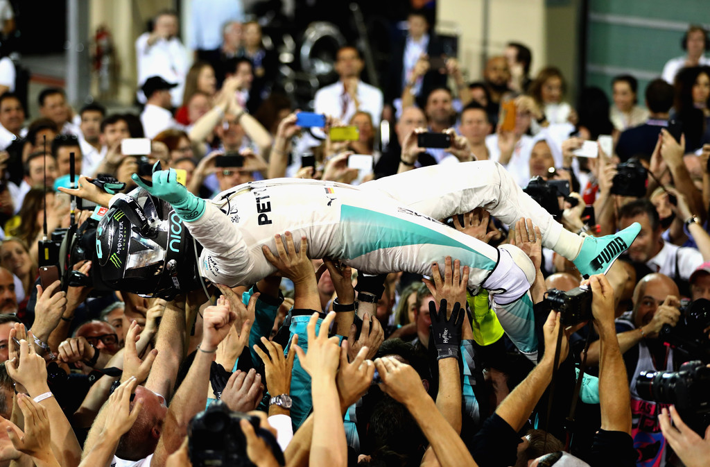 Nico Rosberg world champion