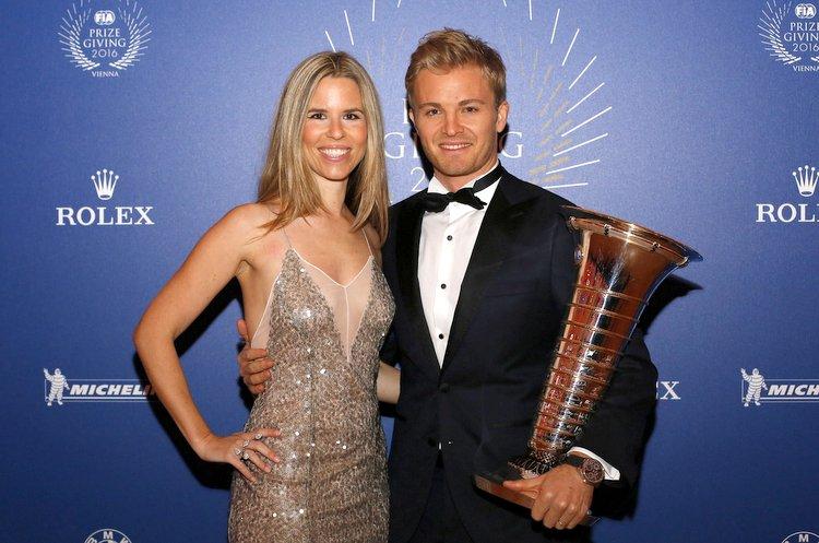 Vivian and Nico Rosberg