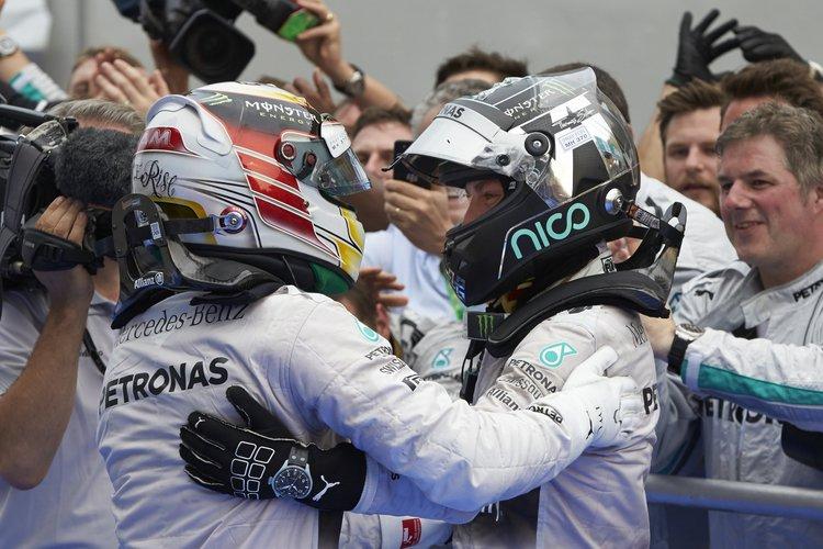 Hamilton  GPI2014 rosberg malaysia