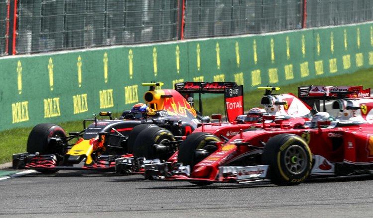 Verstappen-Raikkonen-Vettel-Lusa