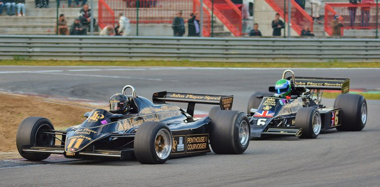 Zolder Masters Historic + Belcar Sat 2016 (477)Greg Thornton- LotusLotus 91-5 + Nick Padmore- Lotus 77