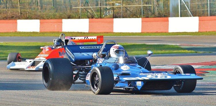 Zolder Masters Historic + Belcar Sat 2016 (62) John Delane - Tyrrell 001