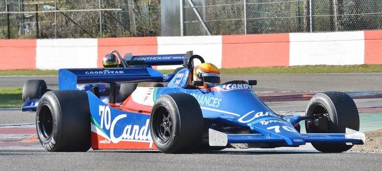 Zolder Masters Historic + Belcar Sat 2016 (74) Loic Deman - Tyrrell 010