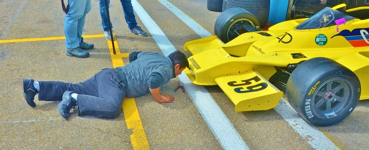 Zolder Masters Historic Races + Belcar - Sun 2016 (16) Alain Plash - Fittipaldi F5A