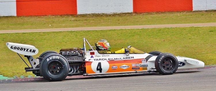 Zolder Masters Historic Races + Belcar - Sun 2016 (250) Joaquin Folch - McLarenM19C