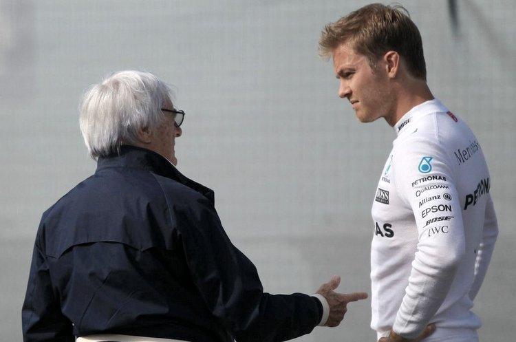Ecclestone Rosberg