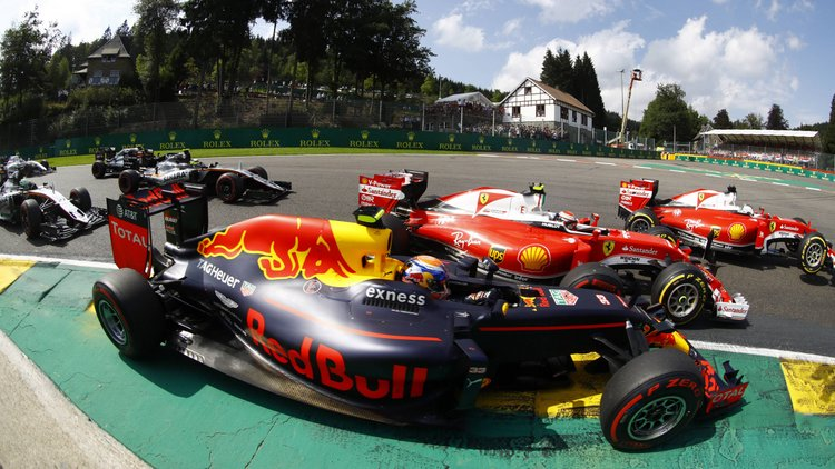 Spa Francorchamps Spa Belgium Sunday 28 August 2016 Max Verstappen Red Bull Racing RB12 TAG He