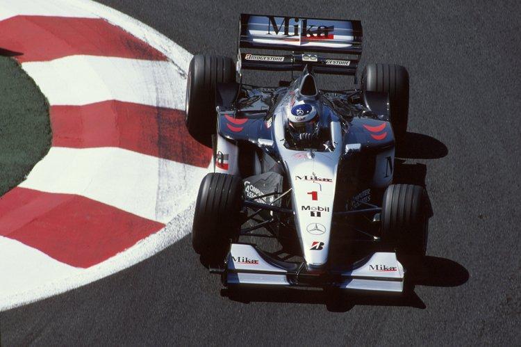 Formel 1, Grand Prix Frankreich 1999, Magny-Cours, 27.06.1999 Mika Hakkinen, McLaren-Mercedes MP4-14