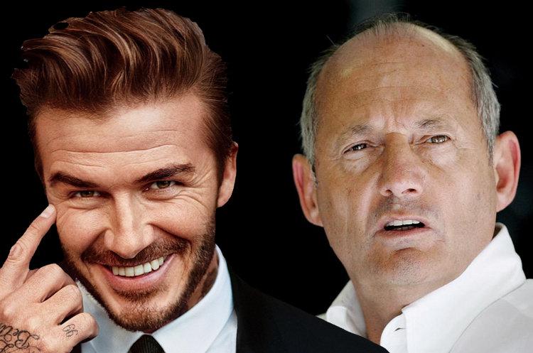Ron Dennis David Beckham