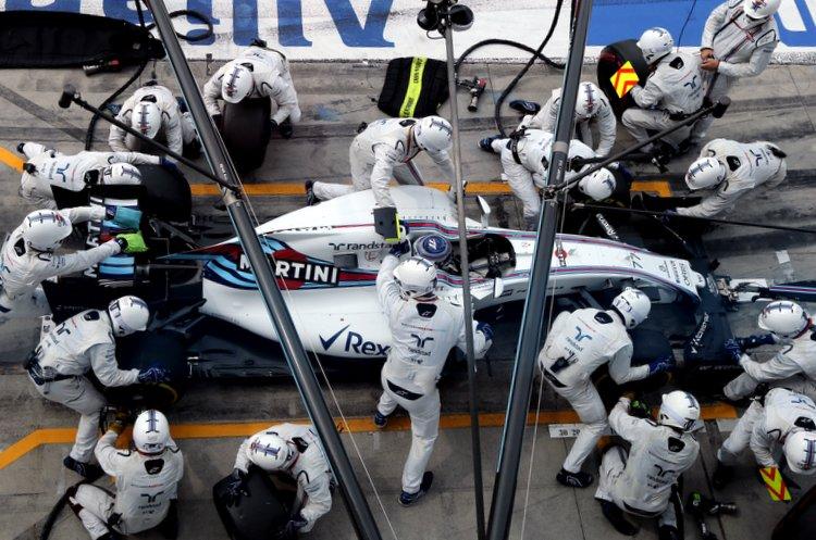 Williams pitstop