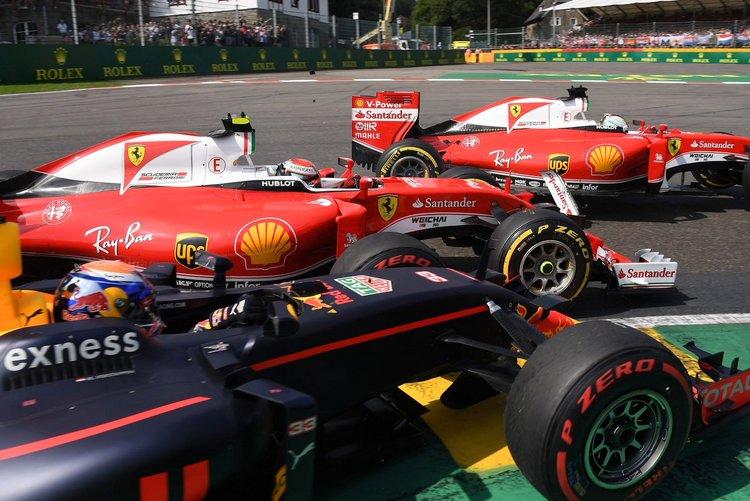 Verstappen Vettel Ricciardo