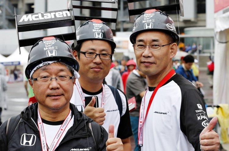 Honda f1 fans