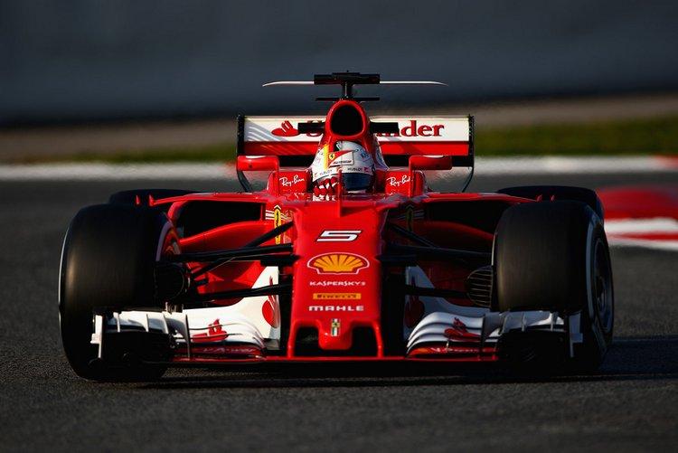 Sebastian Vettel Ferrari F1+Testing+Barcelona+Day+One+LSxwsPLl7w8x