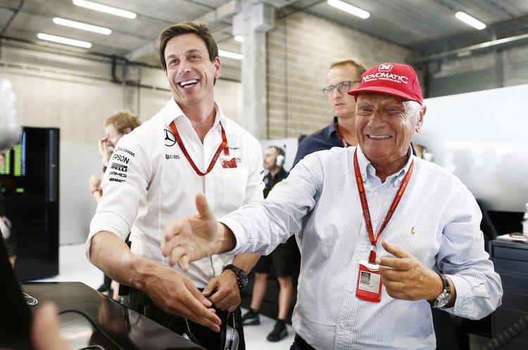 Toto Wolff,Niki Lauda