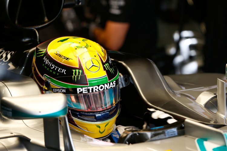 Formel 1 - MERCEDES AMG PETRONAS, Großer Preis von Brasilien 2016. Lewis Hamilton ;Formula One - MERCEDES AMG PETRONAS, Brazilian GP 2016. Lewis Hamilton;