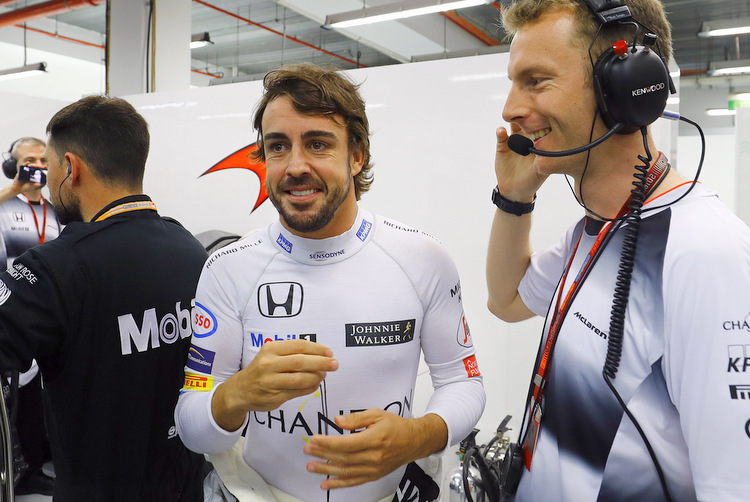 Alonso: I don't care about the color, I want it to be quick
