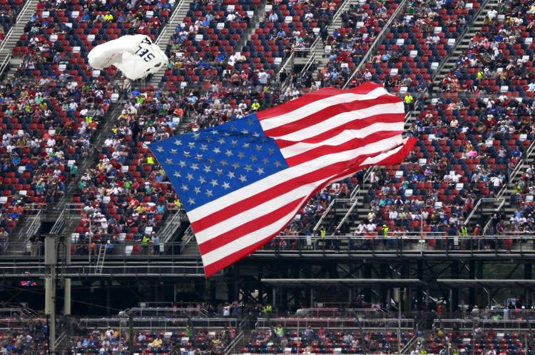 american flag formula 1