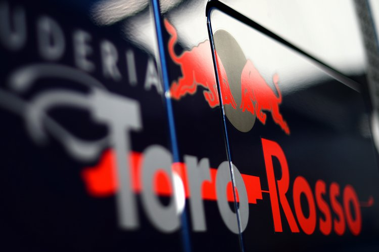Scuderia Toro Rosso logo. Formula One Testing Preparations, Jerez, Spain, Monday 27 January 2014.
