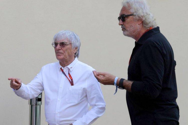 Flavio Briatore, Bernie Ecclestone