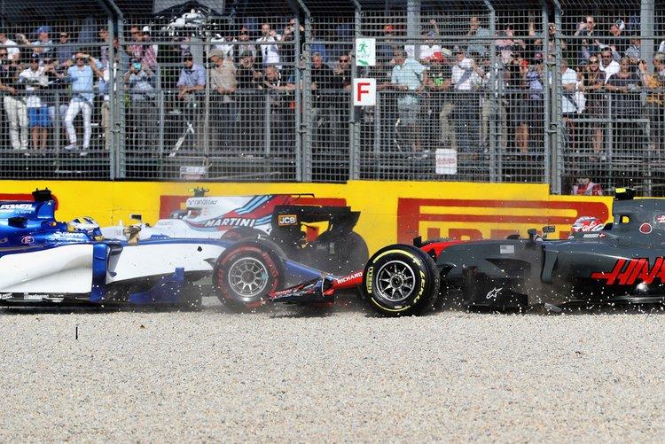 Kevin Magnussen, Marcus Ericsson, crash, accident, incident
